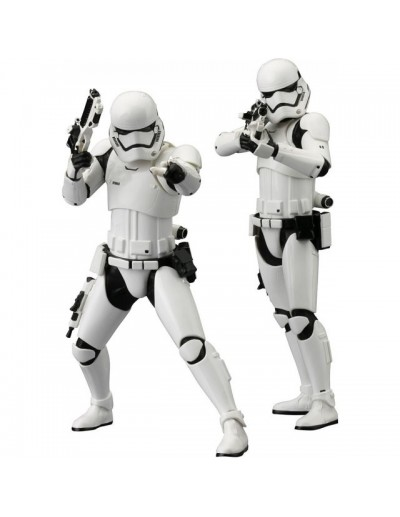 ARTFX+ First Order Stormtrooper  - STAR WARS Pack 2 Estatuas
