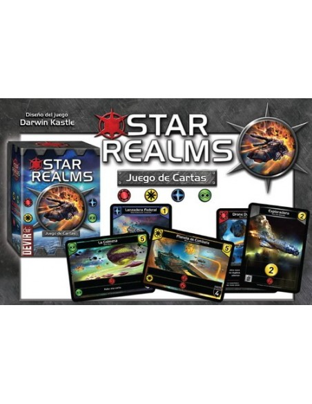 STAR REALMS: STARTER SET (Castellano)
