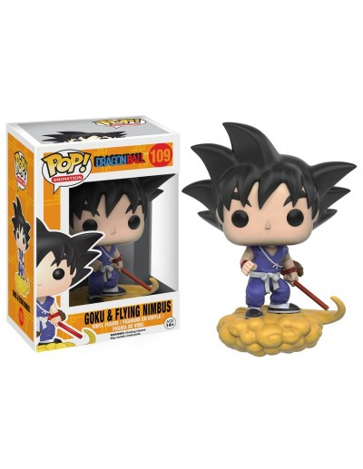 POP! ANIMATION: DRAGON BALL - GOKU & NIMBUS