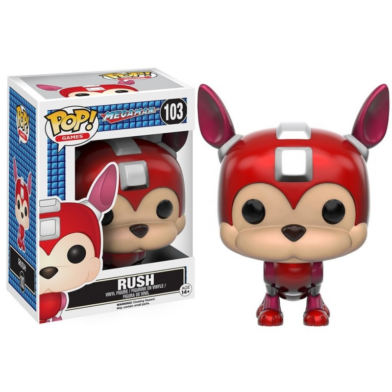 POP! GAMES: MEGAMAN - RUSH
