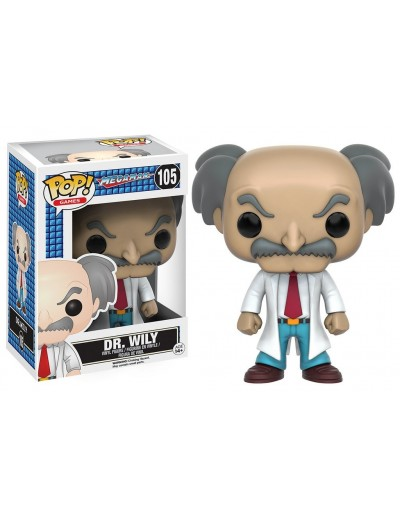 POP! GAMES: MEGA MAN - DR. WILY