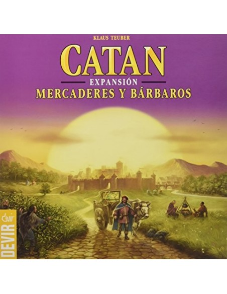 CATAN - MERCADERES Y BÁRBAROS
