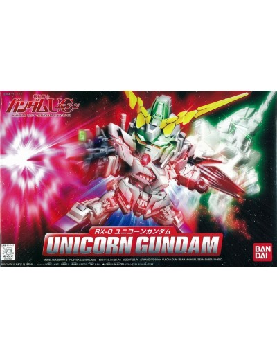 SD GUNDAM UNICON RX-0 BB
