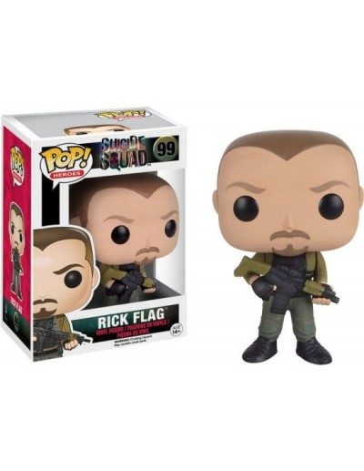 POP! HEROES: SUICIDE SQUAD - RICK FLAG