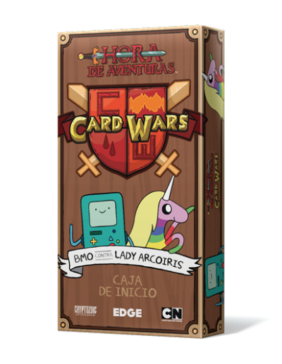 CARD WARS: BMO VS LADY ARCOIRIS