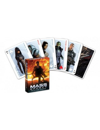 MASS EFFECT BARAJA DE POKER