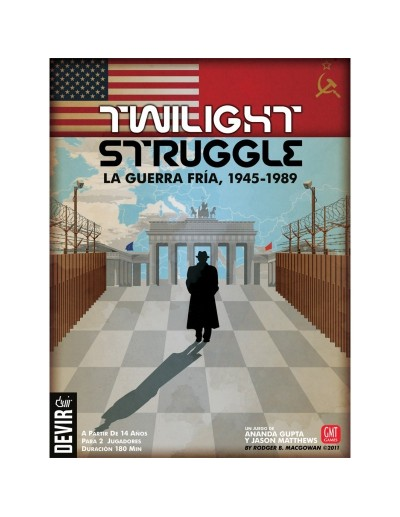 TWILIGHT STRUGGLE, LA GUERRA FRIA 1945-1989