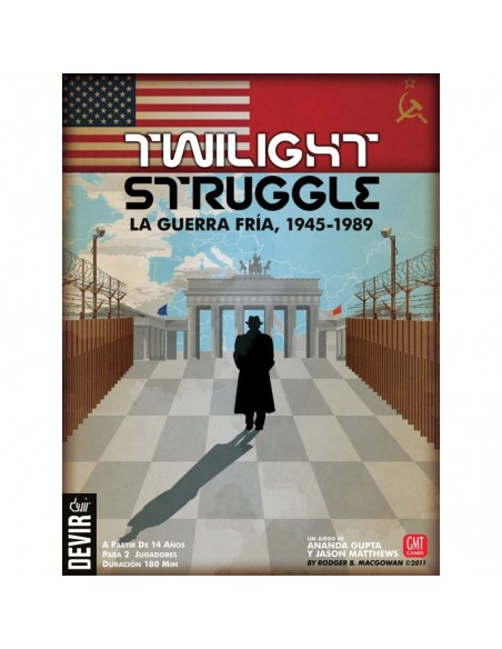 TWILIGHT STRUGGLE, LA GUERRA FRIA 1945-1989