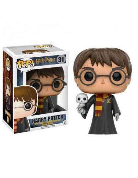 POP! HARRY POTTER -  HARRY POTTER WITH HEDWIG