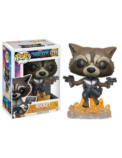 POP! MARVEL: GUARDIANS OF THE GALAXY - ROCKET BLASTING