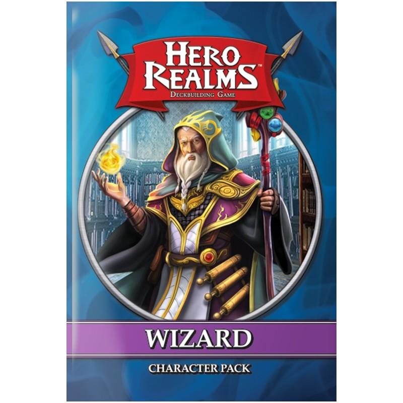 HERO REALMS: CHARACTER PACK WIZARD