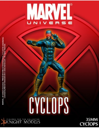 FIGURA CYCLOPS 35 mm MARVEL KNIGHT MODELS