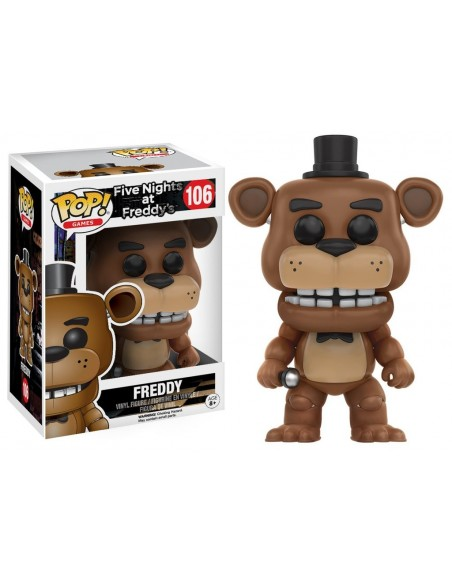 POP! GAMES FIVE NIGHTS AT FREDDY'S - FREDDY