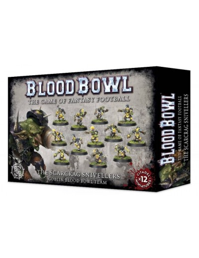BLOOD BOWL - THE SCARCRAG SNIVELLERS