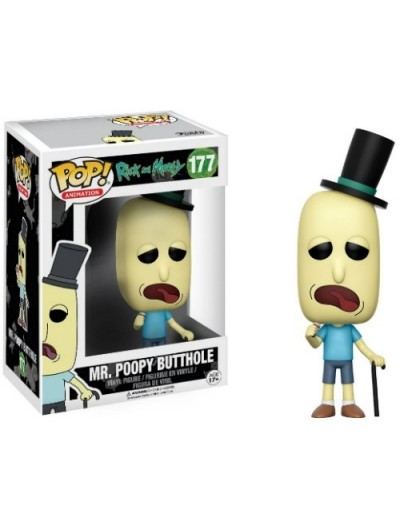 POP! ANIMATION: RICK Y MORTY - MR. POOPY BUTTHOLE