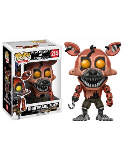 POP! GAMES FIVE NIGHTS AT FREDDY'S - NIGHTMARE FOXY
