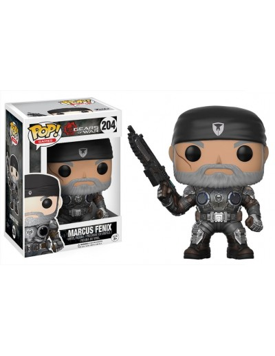 POP! GAMES GEARS OF WAR 2 - MARCUS FENIX