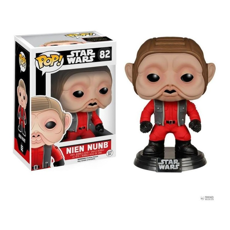 POP! STAR WARS THE FORCE AWAKENS - NIEN NUNB