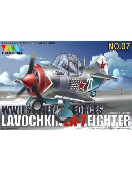 CUTE PLANE LAVOCHKIN LA-7 FIGHTER