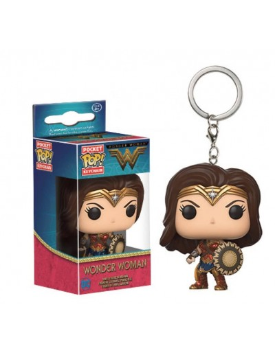 POCKET POP! LLAVERO: WONDER WOMAN