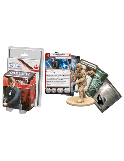 STAR WARS IMPERIAL ASSAULT - LUKE SKYWALKER PACK DE ALIADO