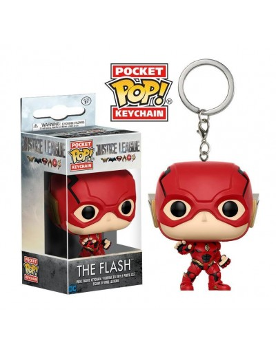 POCKET POP! LLAVERO: JUSTICE LEAGUE FLASH
