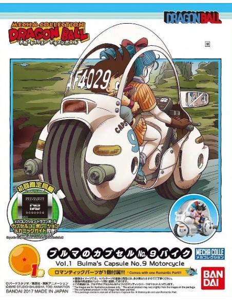 DRAGON BALL MECHA COLLECTION VOL. 1 BULMA´S CAPSULE Nº 9 MOTORCYCLE