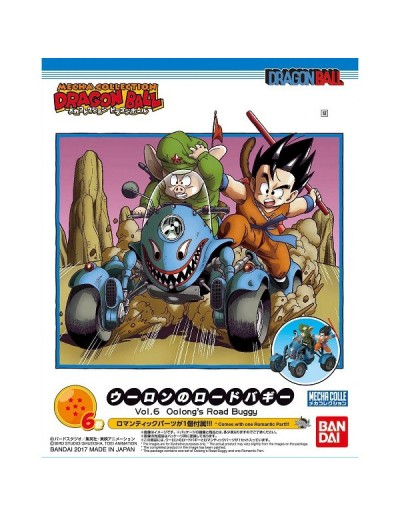 DRAGON BALL MECHA COLLECTION VOL.6 OOLONG´S ROAD BUGGY