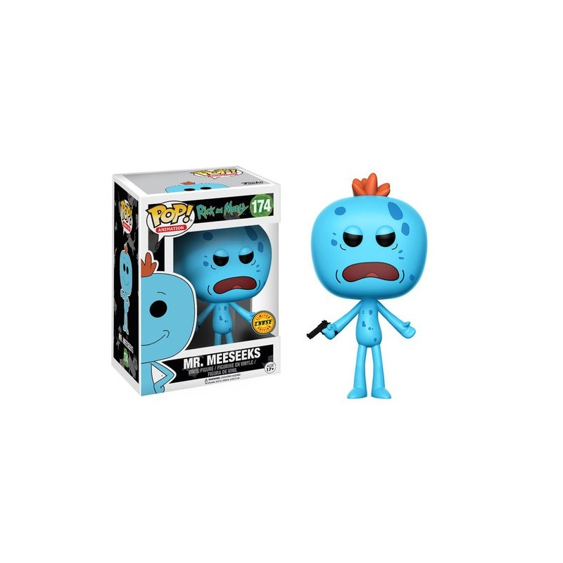 POP! RICK Y MORTY - MR MEESEEKS (CHASE)