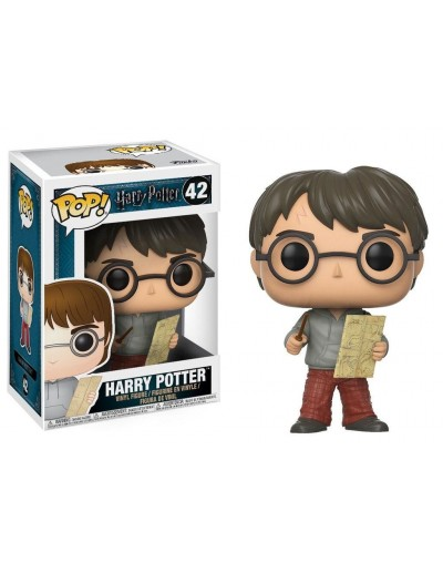 POP! HARRY POTTER - HARRY POTTER WITH MARAUDER MAP