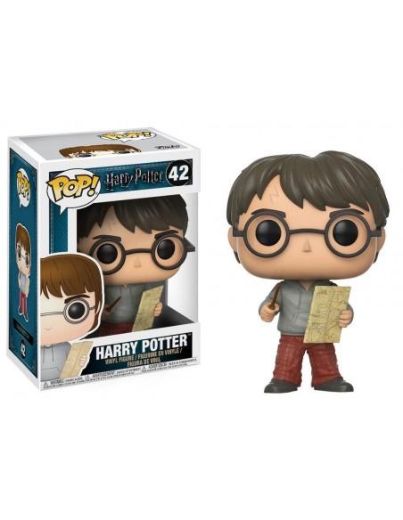 POP! HARRY POTTER - HARRY POTTER WITH MARAUDER MAP