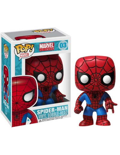POP! MARVEL: SPIDERMAN RED & BLUE