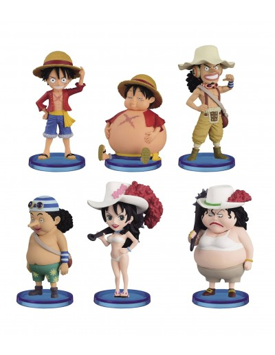ONE PIECE WCF CHIBI BEFORE / AFTER