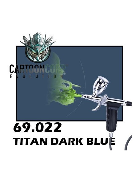 69022 - TITAN DARK BLUE  - MECHA COLOR