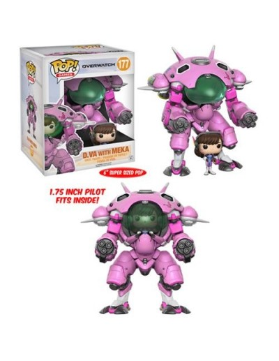 POP! OVERWATCH - D.VA & MEKA