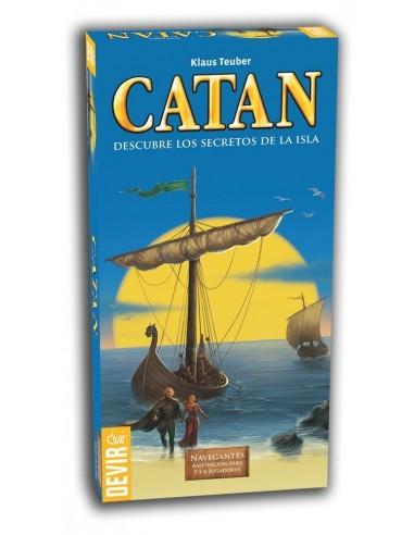 NAVEGANTES DE CATÁN EXP. 5-6 JUGADORES