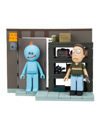 RICK & MORTY KIT DE CONSTRUCCION WAVE 1 - GARAJE FAMILIA SMITH