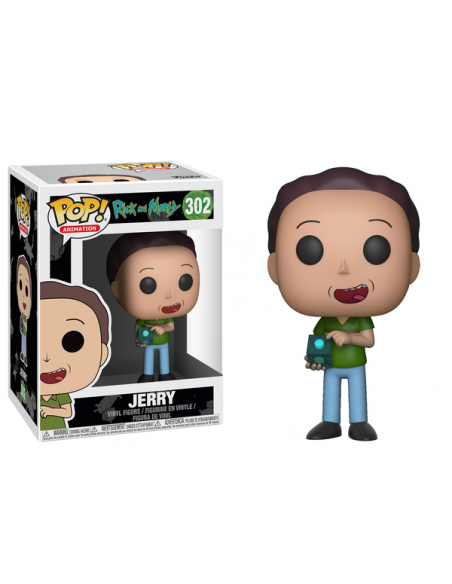 POP! ANIMATION: RICK Y MORTY - JERRY