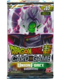 DB SUPER CARD GAME UNION FORCE 02 BOOSTER PACK