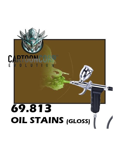 69813 - OIL STAINS (GLOSS) - MECHA COLOR