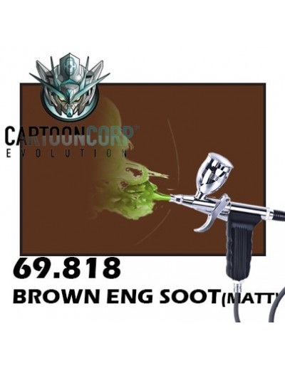 69818 - BROWN ENG SOOT (GLOSS) - MECHA COLOR