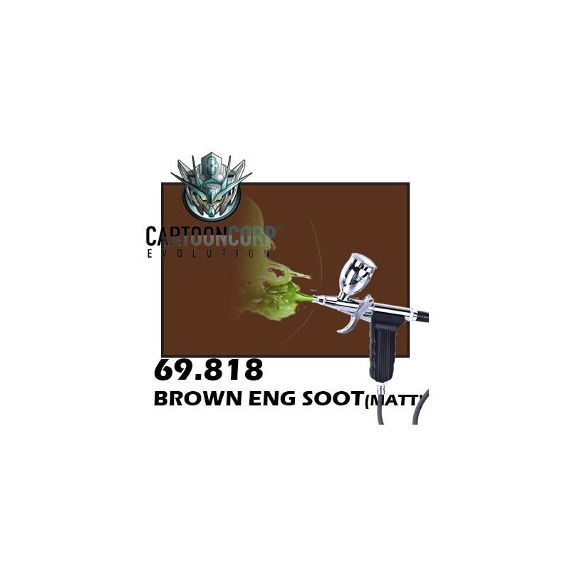 69818 - BROWN ENG SOOT (GLOSS) - MECHA COLOR