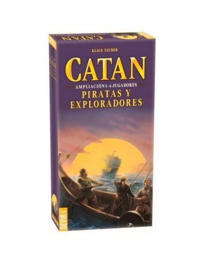 PIRATAS Y EXPLORADORES DE CATAN EXP. 5-6 JUGADORES