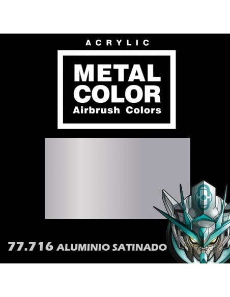 77716 - ALUMINIO SATIN - METAL COLOR