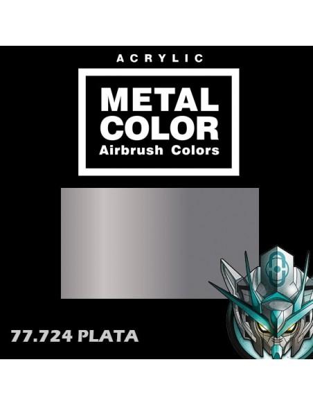 77724- PLATA - METAL COLOR