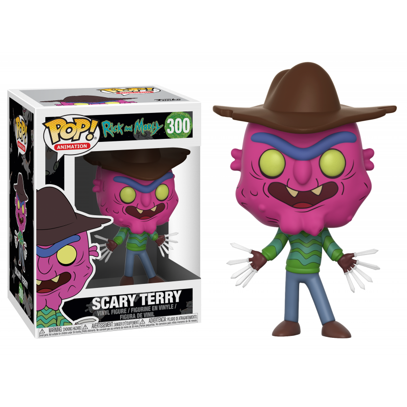 POP! ANIMATION: RICK Y MORTY - SCARY TERRY