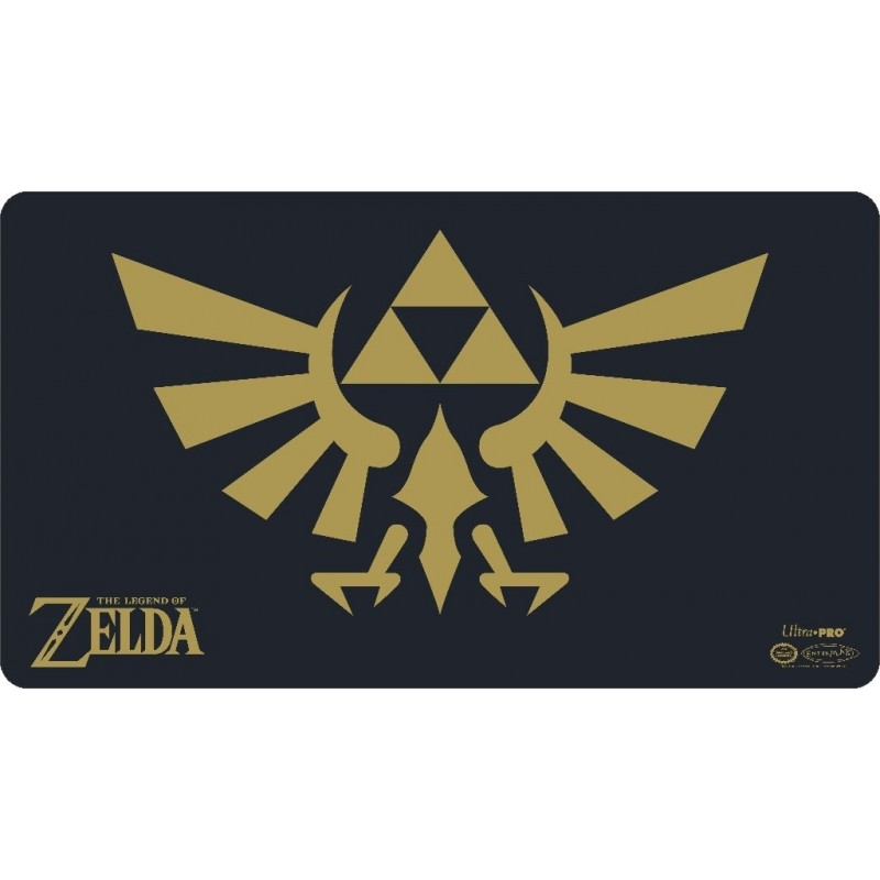 THE LEGEND OF ZELDA - TAPETE BLACK/GOLD
