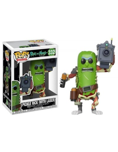 POP! ANIMATION: RICK Y MORTY - PICKLE RICK WITH LASER