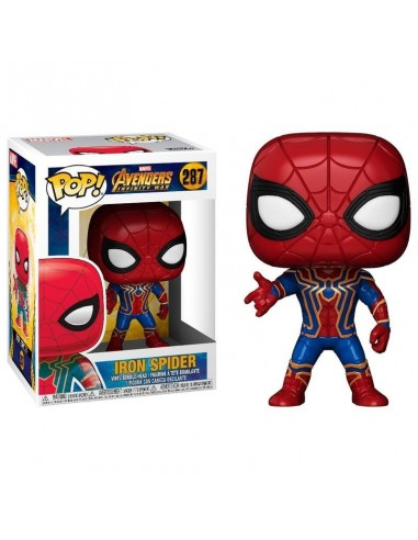 Pop Avengers Infinity War Iron Spider