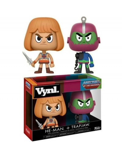 VYNL MASTERS OF THE UNIVERSE - HE-MAN AND TRAP JAW